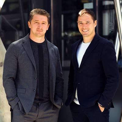 Павел Кашников и Алексей Новиков
